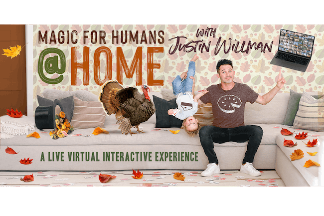 MAGIC FOR HUMANS (AT HOME) w/ Justin Willman