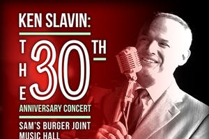 Ken Slavin: The 30th Anniversary Concert