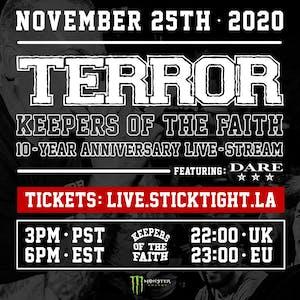 TERROR: Keepers of the Faith 10-Year Anniversary Livestream