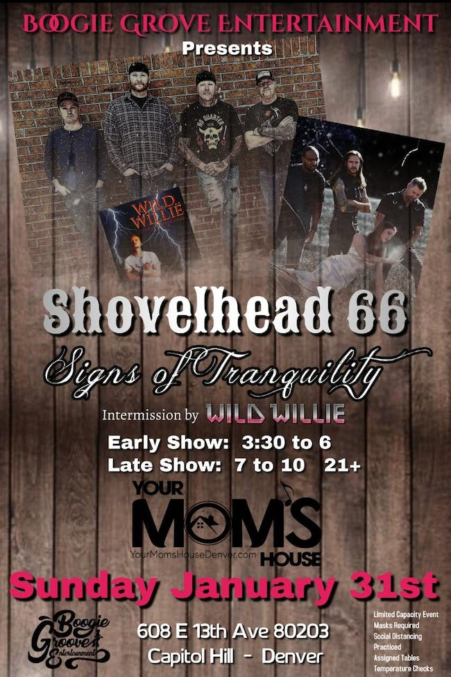 Shovelhead 66 w/ Signs of Tranquility (Late Show)
