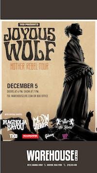 POSTPONED: JOYOUS WOLF / MAGNOLIA BAYOU / MOON FEVER
