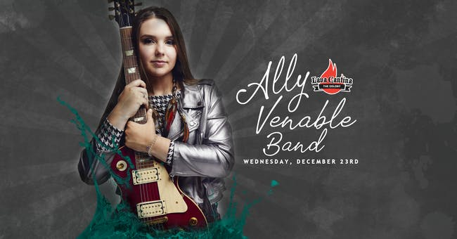 Ally Venable with Dime Store Hoods [4-Ticket Minimum for a Table]