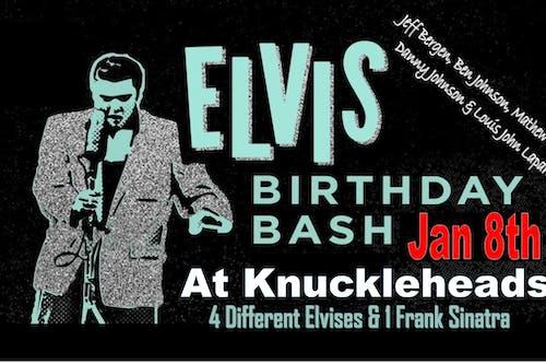 Elvis Bash w/ Jeff Bergen, Ben Johnson, Matthew Sharp, Danny Johnson +Louis