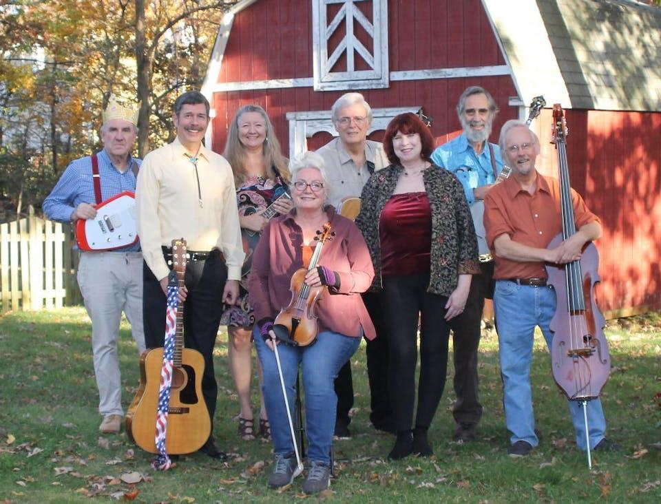 A Song & A Slice (Indoors + Distanced!): Shenandoah Run - Folk Music