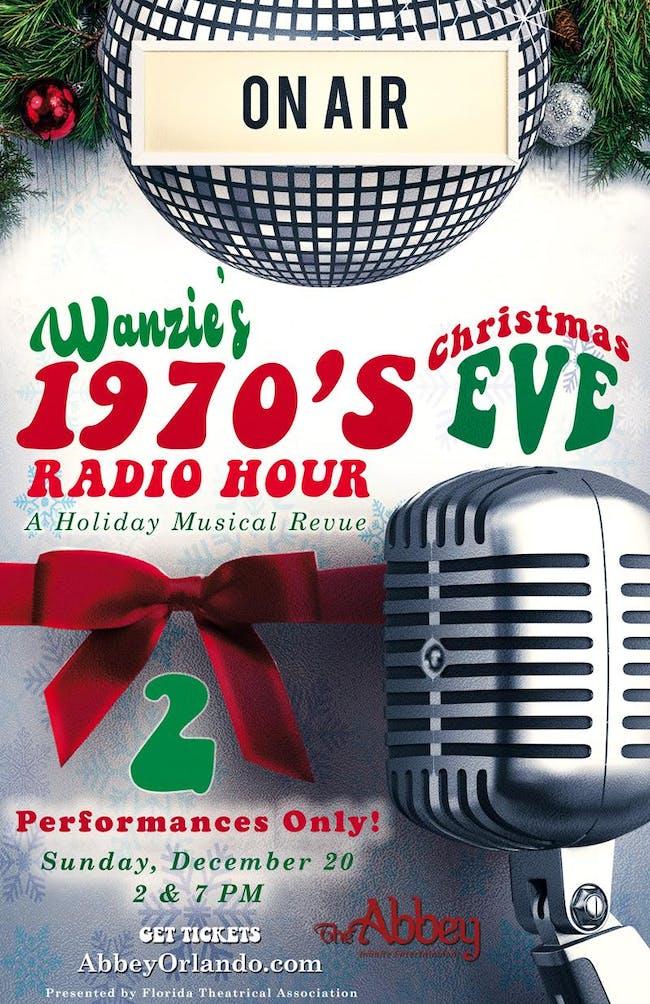 Wanzie's 1970'S CHRISTMAS EVE RADIO HOUR