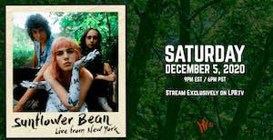 Sunflower Bean Livestream