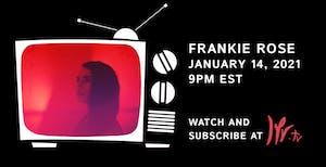 Frankie Rose Livestream