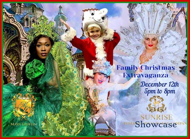Sunrise International Dance Co Family Christmas Extravaganza
