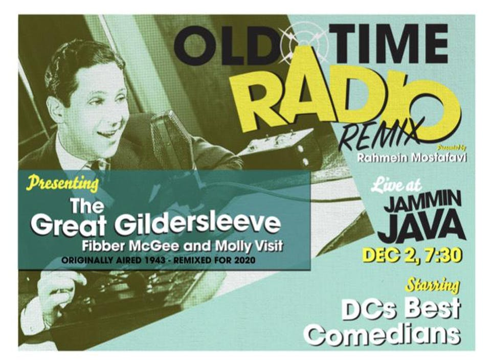Old Time Radio Remix from Comedian & Producer Rahmein Mostafavi