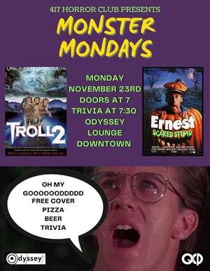 MONSTER MONDAY'S : TROLL EDITION @ Odyssey Lounge