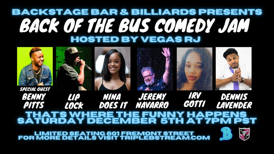 Back Of The Bus Comedy Jam
