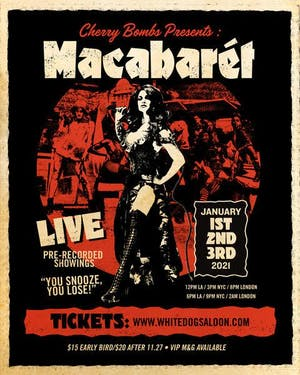 Cherry Bombs presents MACABARÉT