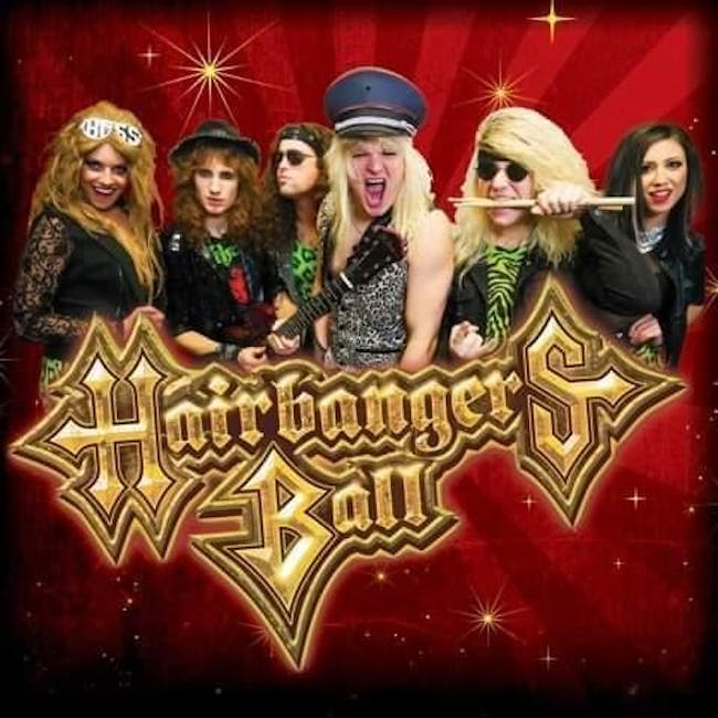 Hairbangers Ball Live in The Afterlife Music Hall at Brauer House