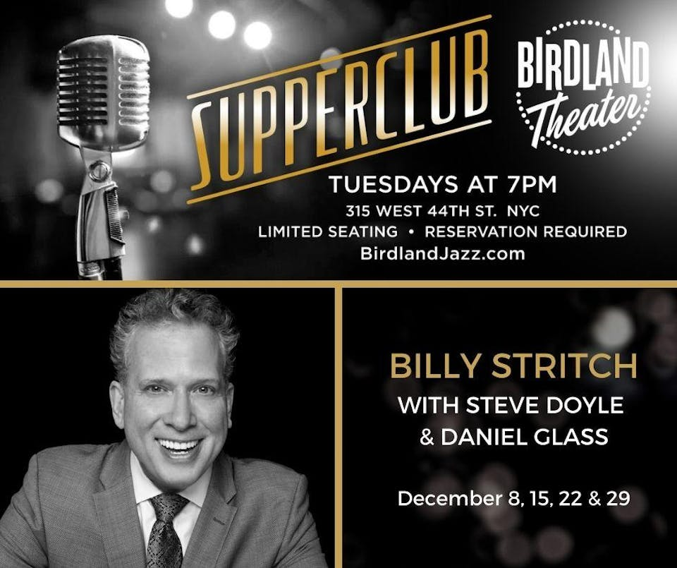 Supperclub Hosted by Billy Stritch