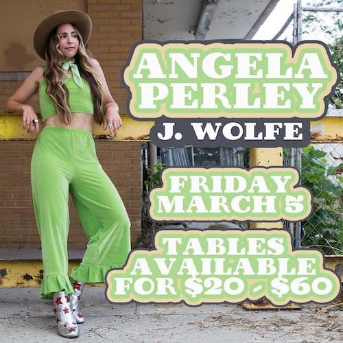 Angela Perley • J. Wolfe