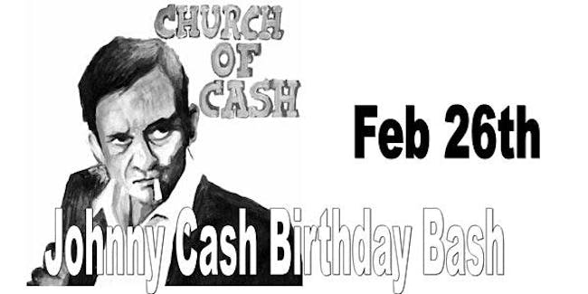 Church of Cash (Johnny Cash Birthday Tribute ) with the Vincents