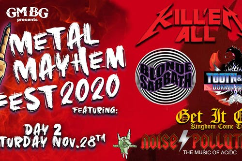 Metal Mayhem 2020 Fest - Day 2 (Inside Stage)