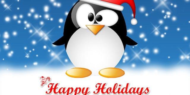 Closed Happy Holidays!