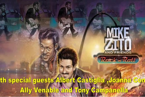 Mike Zito's Big Blues Band with  Albert Castiglia , Joanna Connor,