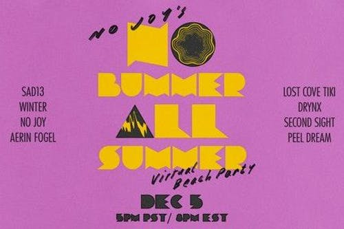 "No Joy's No Bummer All Summer ""Virtual"" Beach Party"