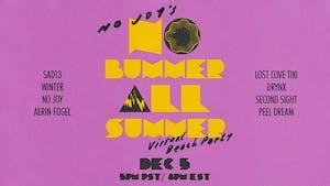 """No Joy's No Bummer All Summer """"Virtual"""" Beach Party"""
