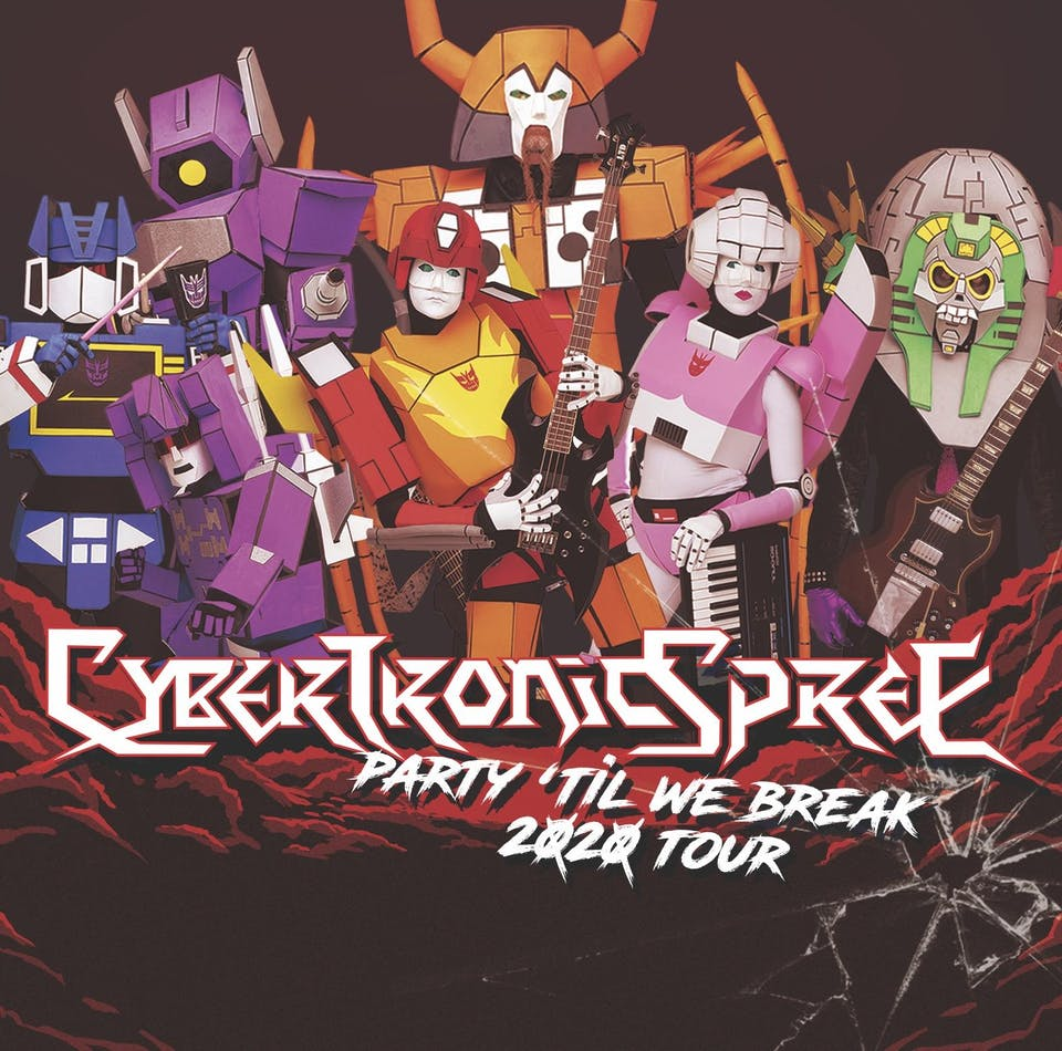 The Cybertronic Spree (Rescheduled from 04/10/20)