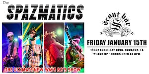 THE SPAZMATICS - the Ultimate New Wave 80's Show