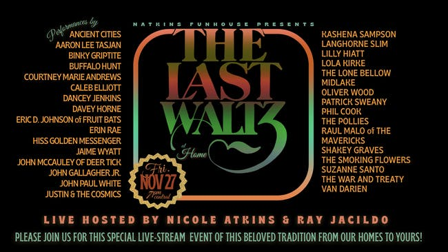 The Last Waltz At Home