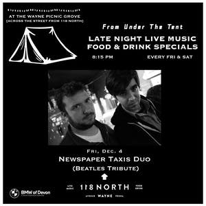 The Newspaper Taxis (Beatles tribute) - Tailgate Under The Tent Series
