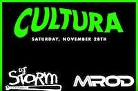 Cultura with DJ Storm of Faded Deejays and DJ MROD