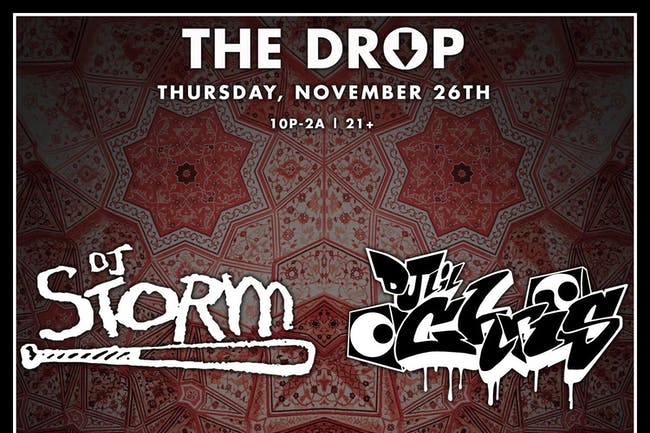 The Drop with DJs Storm and Lil Chris of Faded Deejays