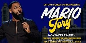 Online Event: Comedian Mario Tory