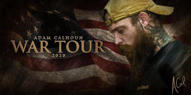 Adam Calhoun War Tour Make Up Date in  Afterlife Music Hall @ Brauer House