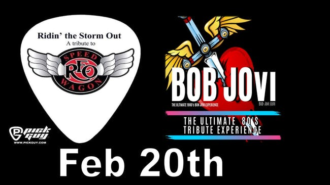 Ridin' the Storm out (A REO tribute) & Bob Jovi (A Bon Jovi tribute)