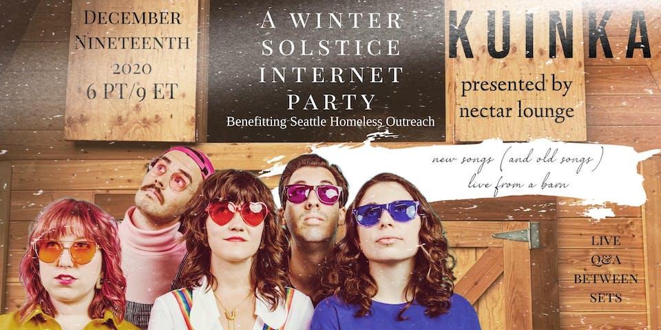 "NVCS presents KUINKA ""Winter Solstice Internet Party"" (live stream + Q&A)"