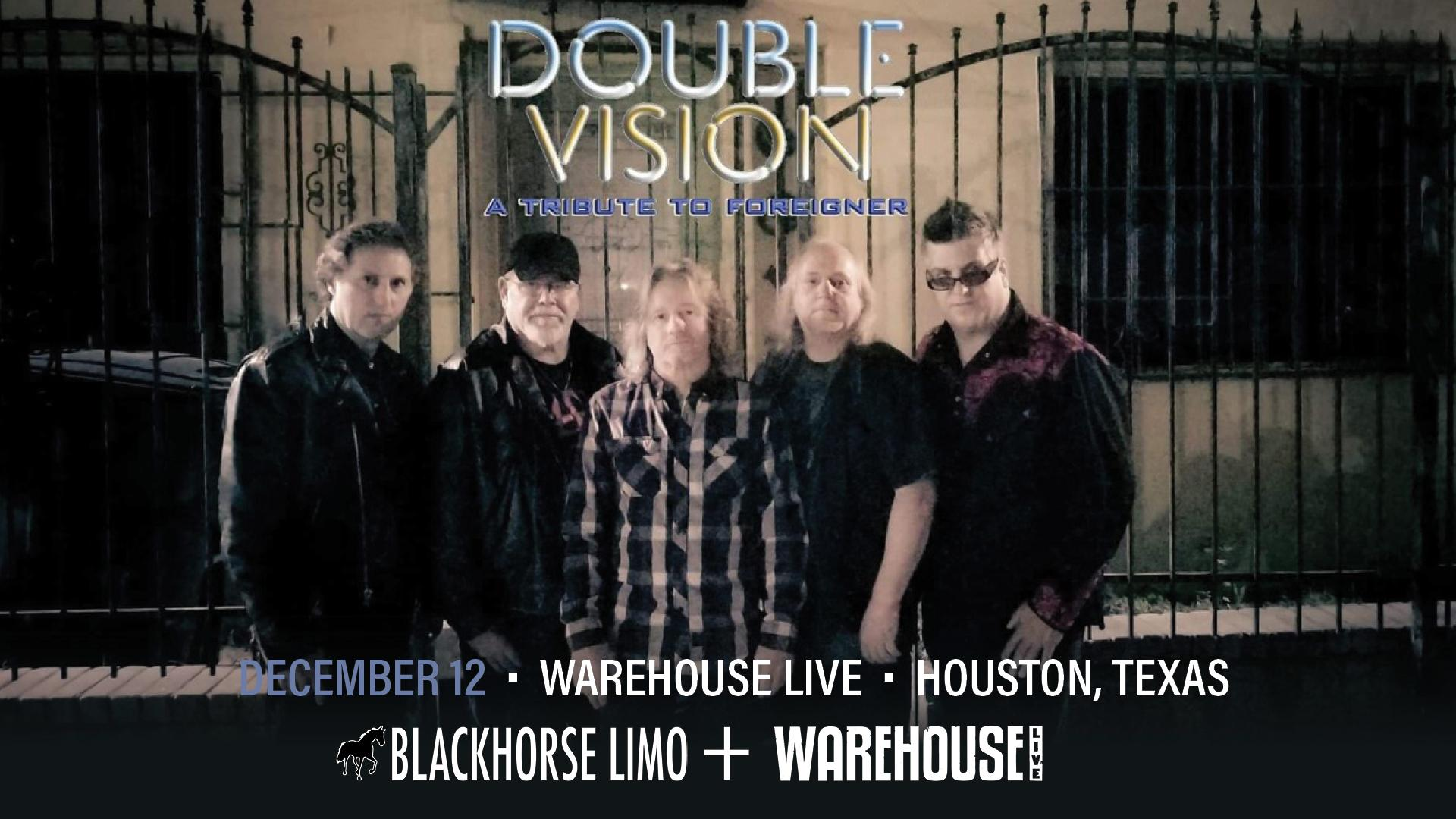 DOUBLE VISION (TRIBUTE TO FOREIGNER)