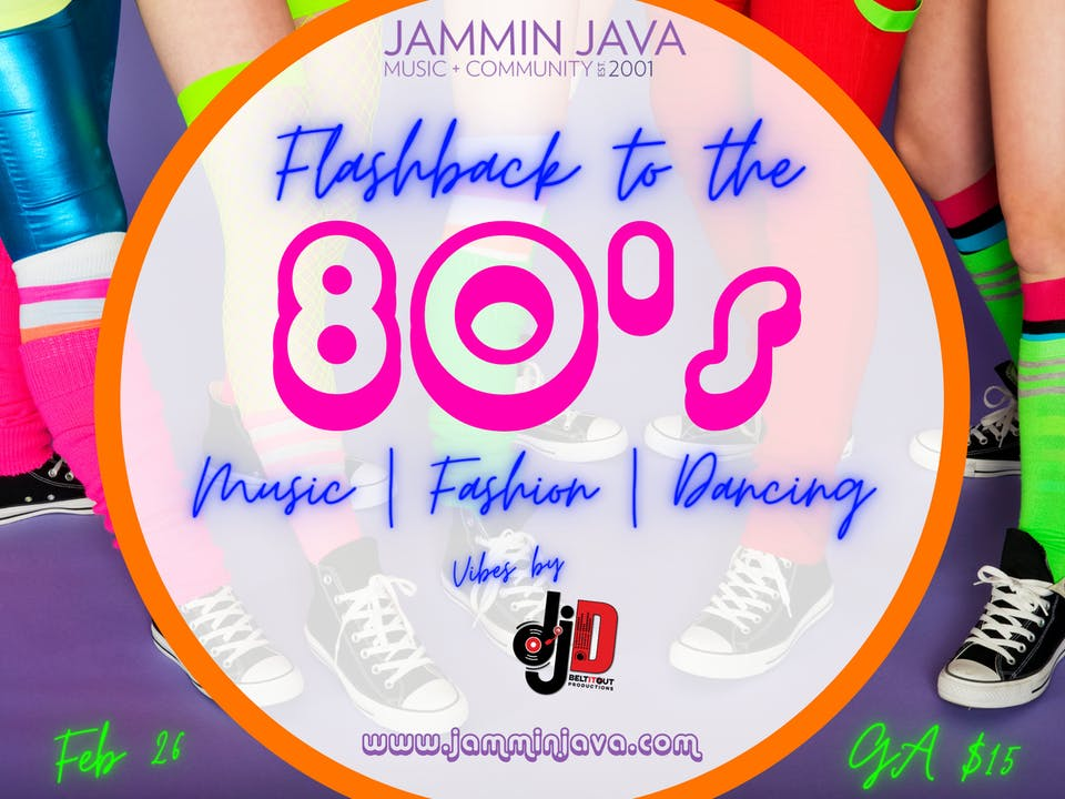 Flashback to The 80's with DJ D