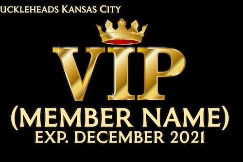 Knuckleheads VIP Membership Card