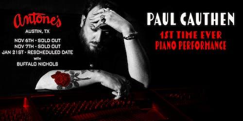 Paul Cauthen on Piano w/ Buffalo Nichols