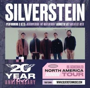 SILVERSTEIN - RESCHEDULED NORTH AMERICAN TOUR
