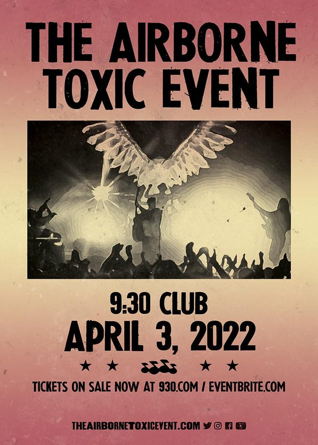 The Airborne Toxic Event (NEW DATE)