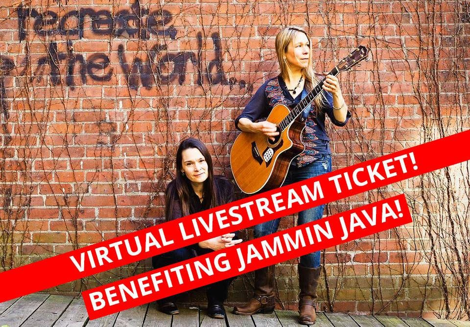 Livestream - The Nields Benefiting Jammin Java