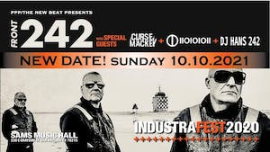 Front 242 with special guests Curse Mackey + IIOIOIOII RESCHEDULED
