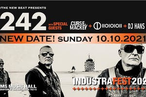 Front 242 with special guests Curse Mackey + IIOIOIOII + DJ Hans 242