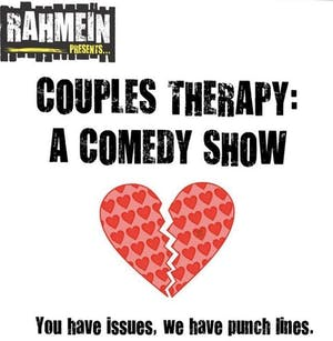 A Song & A Slice (Indoors + Distanced!): Couples Therapy - A Comedy Show