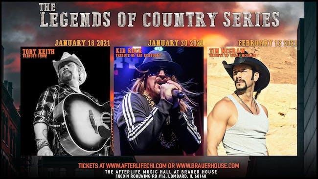 Tim McGraw Tribute Live Show & Live Stream
