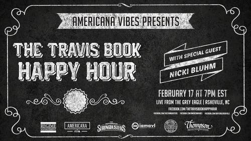 LIVE STREAM:  The Travis Book Happy Hour ft Nicki Bluhm