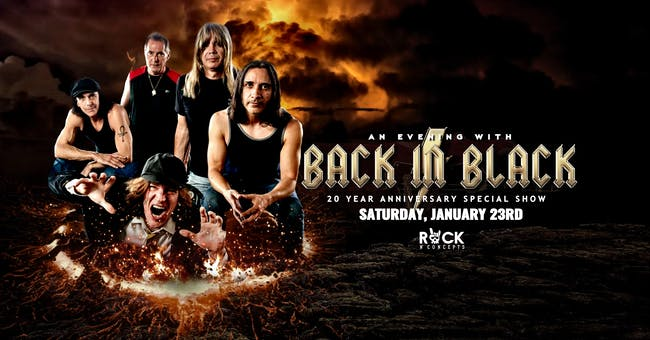 Back in Black - AC/DC Tribute 20th Anniversary Party [4-Ticket Minimum]