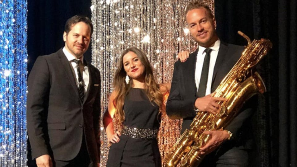 Friday Night on the Town with GOLD STANDARD, a Funky Jazz Trio