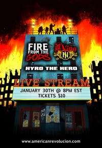 FIRE FROM THE GODS & ILL NINO - LIVE STREAM